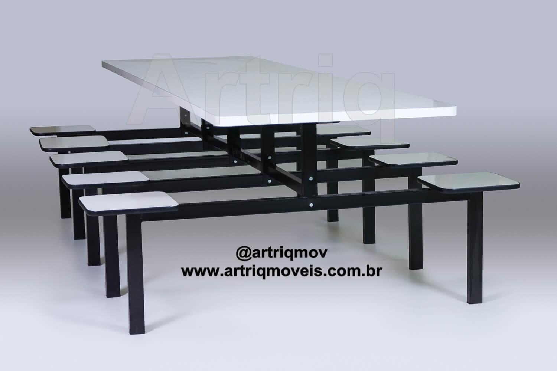 Mesa para Refeit�rio (TE 701)