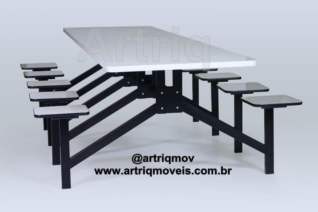 Mesa para refeit�rio (Formica) (TE 707)