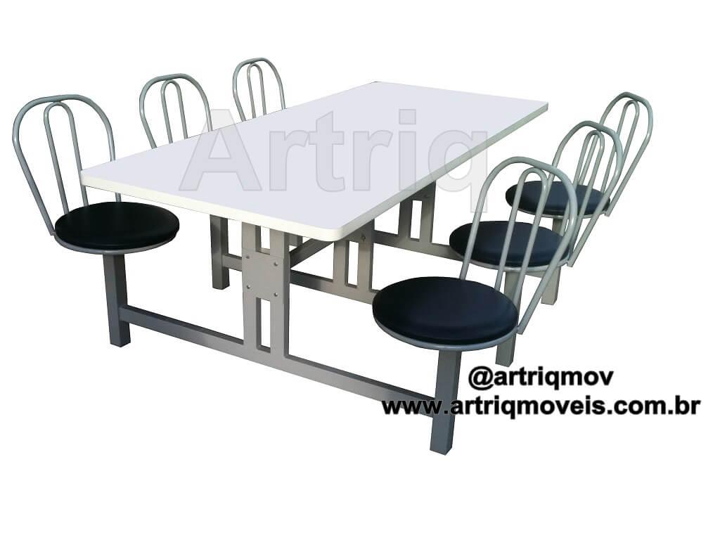 Mesa para refeit�rio (TE 712)