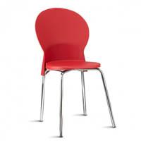 Cadeira em Polipropileno Luna Cromada (FK Luna)