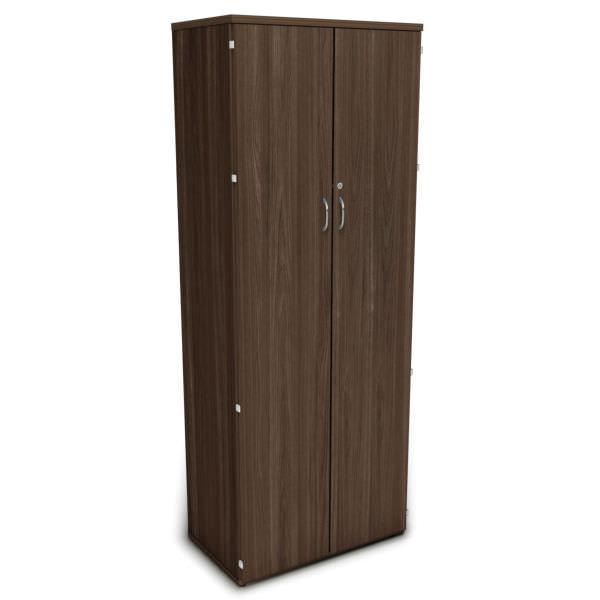 Armário extra alto com 2 portas com fita e dobradiças 270°