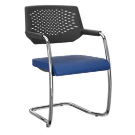 Cadeira fixa aproximação S empilhável