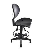 Cadeira Industrial Caixa PU (ST 2541)