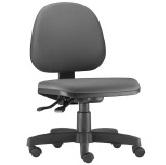 Cadeira executiva giratória com assento em espuma