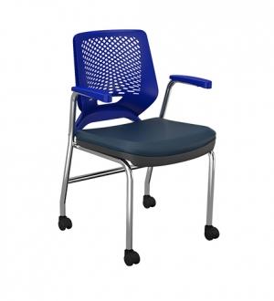 Cadeira Fixa com Rod�zios