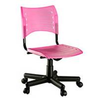 Cadeira giratoria em polipropileno