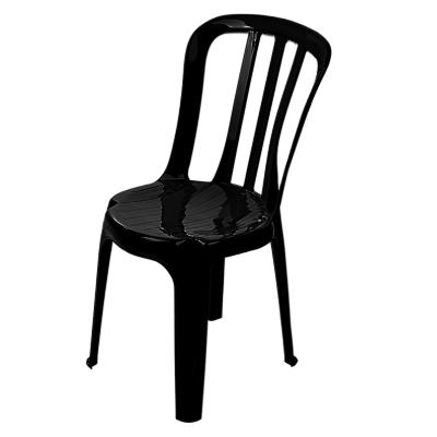 Cadeira em polipropileno empilhável com encosto
