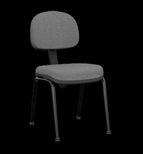 Cadeira fixa secretária com 4 pés