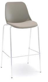 Cadeira Secretária Fixa Alta 04 pés