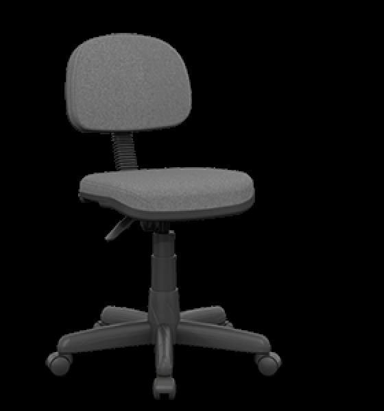 Cadeira giratória secretária sem braço