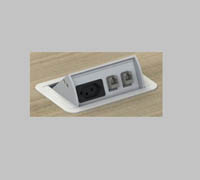 Caixa de Tomada SLIM Pequena (MZ CAP)