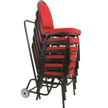 Carrinho para transporte de cadeiras