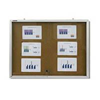 Quadro de aviso com portas de vidro (QL001)