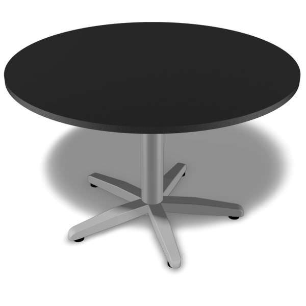 Mesa de reunião redonda de 25 mm