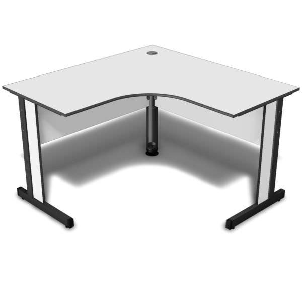 Mesa em L com tampo de 15 mm
