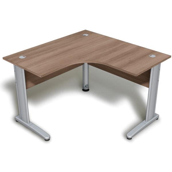 Mesa em L com tampo de 18 mm