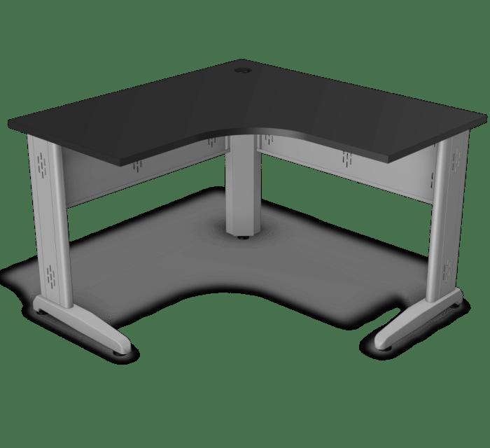 Mesa em L com tampo de 25 mm