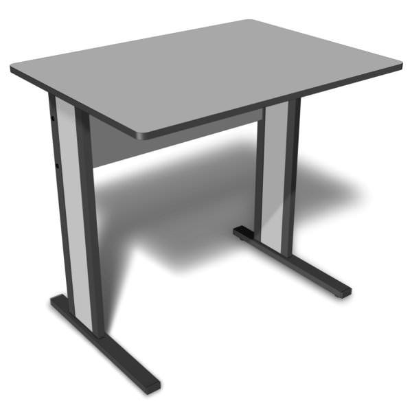 Mesa retangular de 15 mm