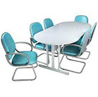 Mesa de reunião oval (MZMRO 042090)