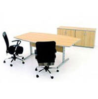 Mesa reunião semi oval (FL 52250S)
