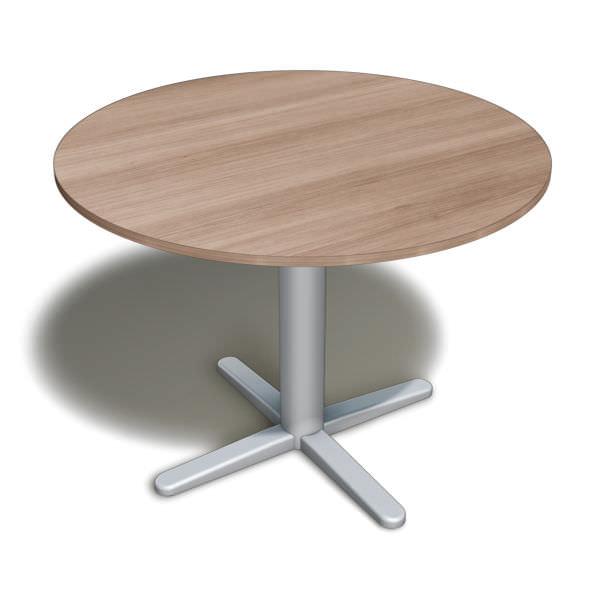 Mesa reunião redonda com tampo 18 mm