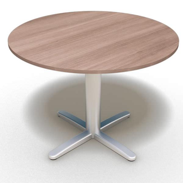 Mesa reunião redonda com tampo 25 mm