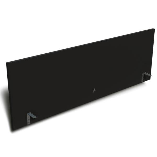 Painel divisor suspenso reto de 15 mm