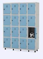 Roupeiro de a�o com 16 portas pequenas (PD C345b)