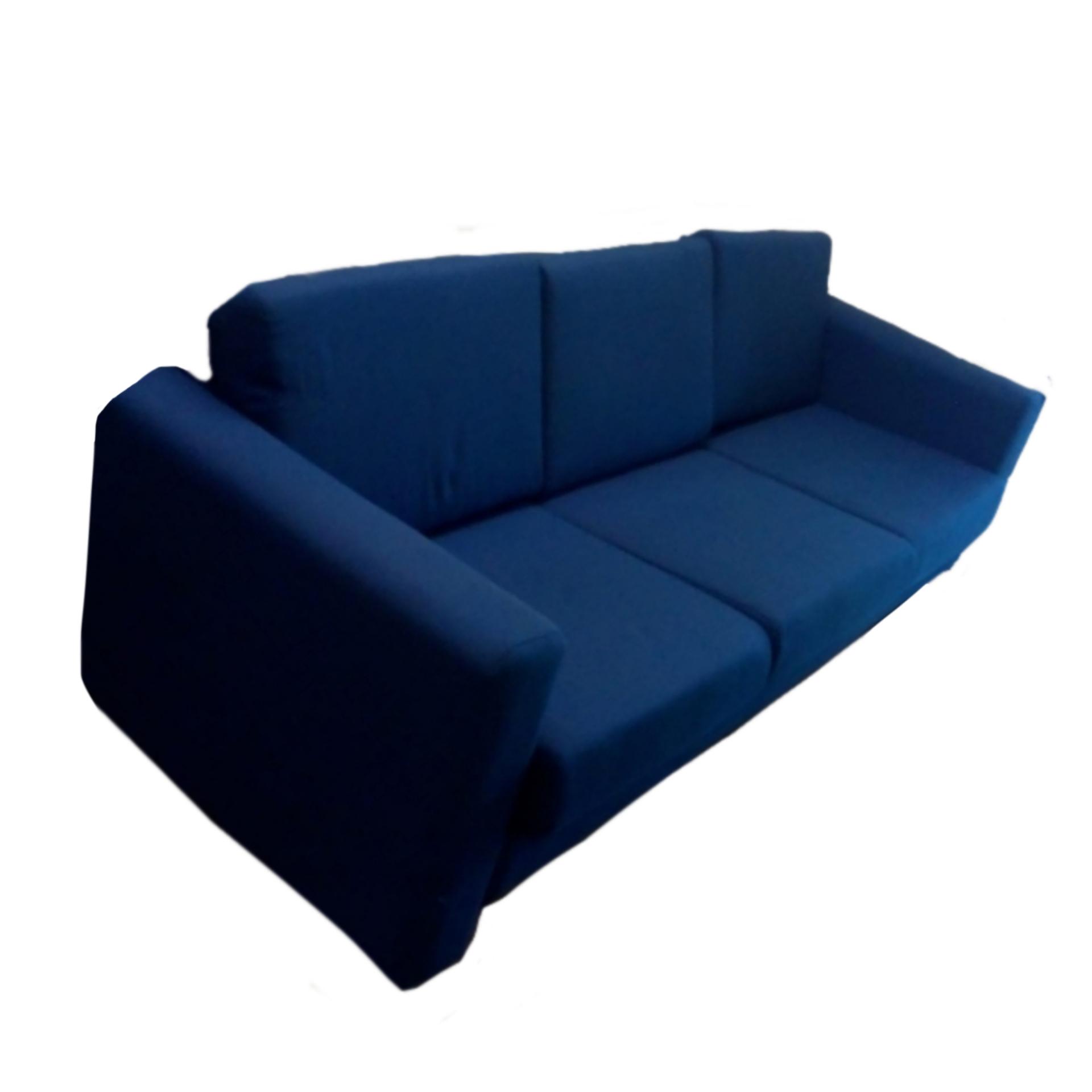 Sofá de tecido com 3 lugares